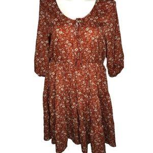 NEW!!! Just Found Boho Flower Print dress 2X